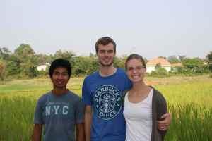 Somchai, Benjamin og Sarah kommer denne uken til å gi dere små glimt fra hjemmebesøk i Laos