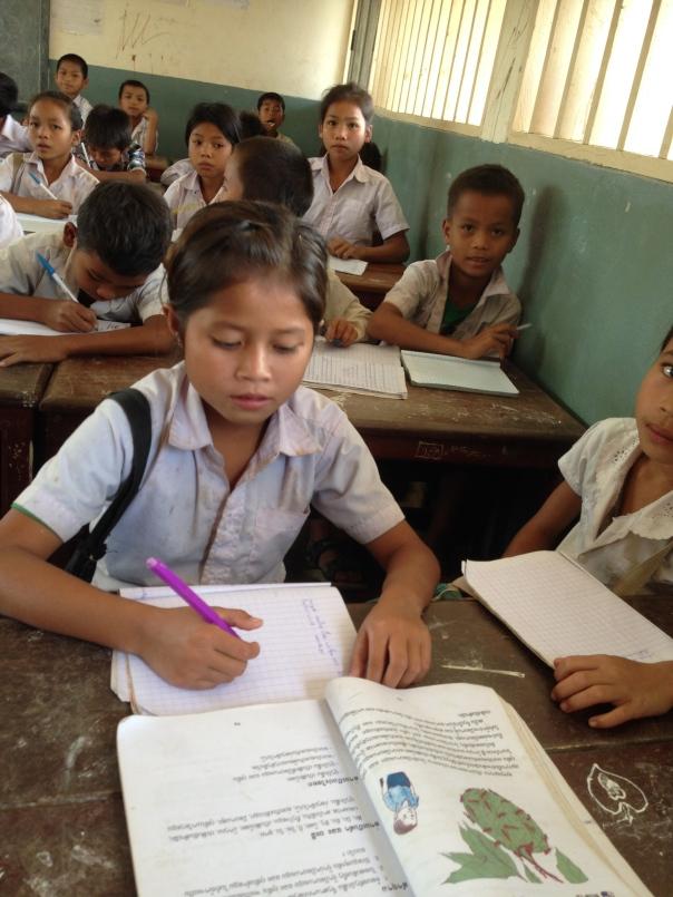 Mange barn har i 2013 begynt på skolen med støtte fra SSL.