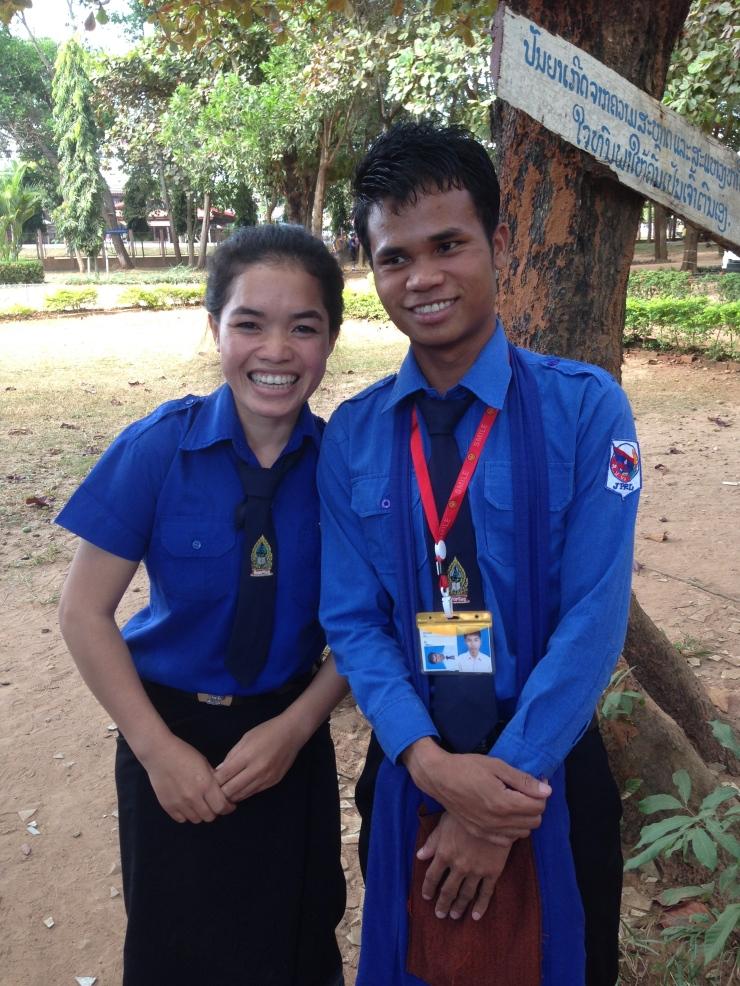 Indageo og Phådi er lærerskolestudenter støttet av SSL. De er svært takknemlige og ønsker å takke alle norske givere for at deres drøm om å bli lærere snart vil bli oppfylt
