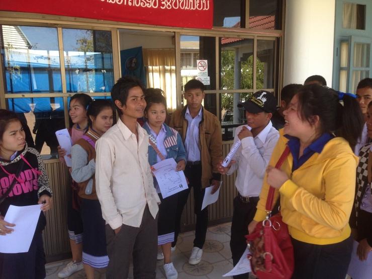 Mange hadde spørsmål til Duang om læreryrket